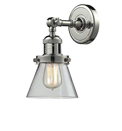 Innovations Lighting 203-PN-G62 1 Light Sconce Polished Nickel