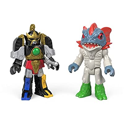 Fisher-Price Imaginext Power Rangers Thunder Megazord & Pirantishead: Toys & Games