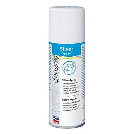 Spray de plata.
