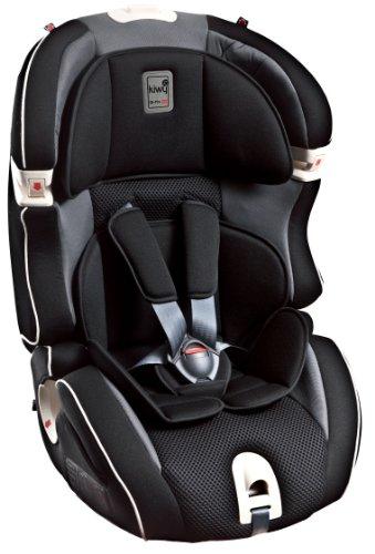 Kiwy Kinderautositz Gruppe 1/2/3 mit Isofix 9/36 Kg, carbon
