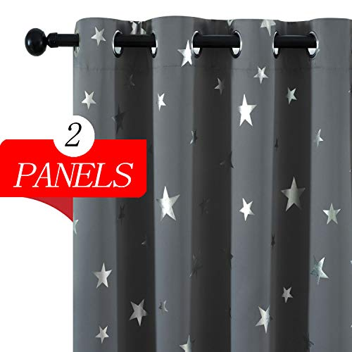 Utopia Decor Blackout Curtains Insulated