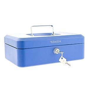 Burg Wachter 701982 Cash Box, Blue, 10″