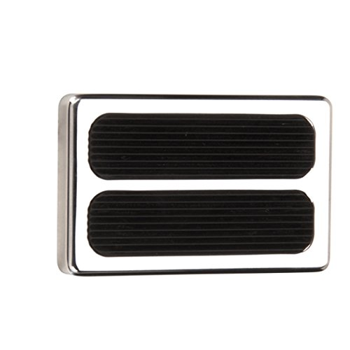 Universal Polished Aluminum Brake Pedal Pad Speedway Motors