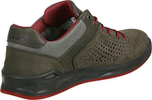 Lowa San Francisco GTX Lo Zapatos de viaje 8,5 oliv/rot