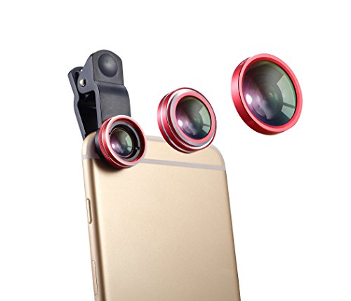 Universal Clip Lens 3 in 1(Red) - 6