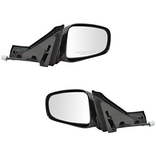 Power Side View Mirrors Left & Right Pair Set for 00-05 Chevy Impala -