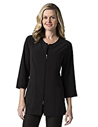 "Maevn Smart Lab Coats - Ladies 3/4"" Sleeve Lab Jacket"
