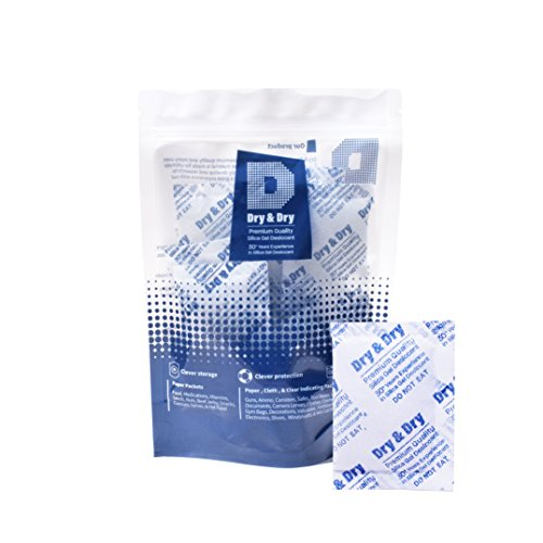 30 Packets of 10 Gram Dry & Dry Silica Gel Desiccant Packets...