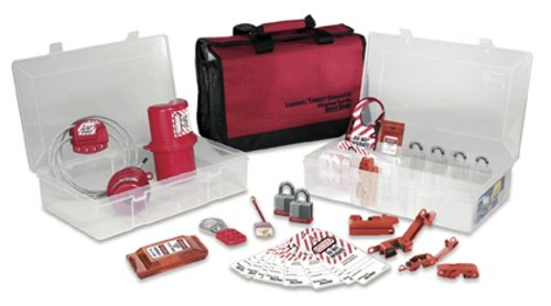 Master Lock Portable Electrical Lockout Assortment, Includes 6 Steel Padlocks by Master Lock