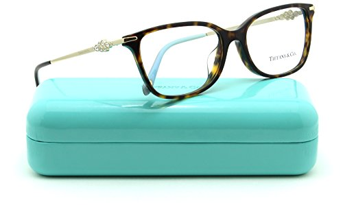 Tiffany & Co. TF 2133-B Women Cat-Eye Eyeglasses RX - able (8015) - & Tiffany Co Frames Glasses