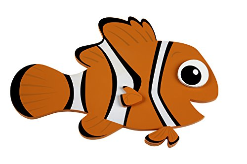 Disney Nemo Shaped Wall Art, Orange