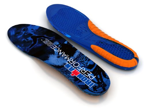 - Spenco Ironman Performance Gel Insole Size LARGE 9-13 11+