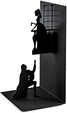 balvi - Romeo & Juliet Buchstütze aus Metall. Inspiriert in Shakespeares Werk.