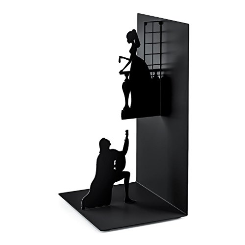 Balvi - Romeo & Juliet Metal bookend. Inspired by The Work of Shakespeare.