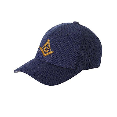 Masonic Exchange Solid Baseball Cap for the Freemason (Navy) Masonic Baseball Cap