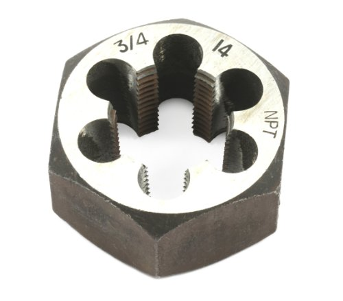 (Forney 21146 Pipe Die Industrial Pro Hex Re-Threading Carbon Steel, Right Hand, 3/4-Inch-by-14)