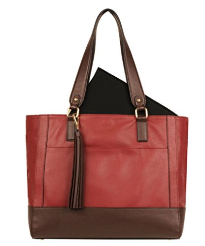 (Wilsons Leather Madison Tote (Scarlet))