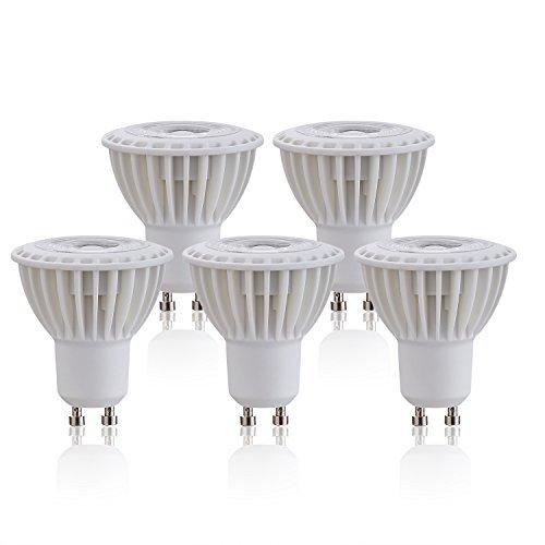 Silicon Controlled LED de intensidad regulable (Casquillo GU10Bombilla 3W (40W equivalente), 270lúmenes 3000K...