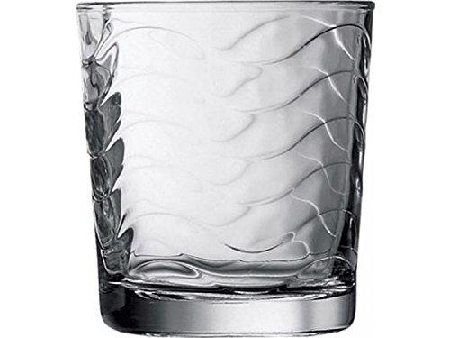 Pasabahce Toras Whisky Glass Set, 250ml, Set of 6