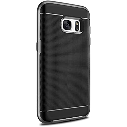 Galaxy S7 Case, MyCell 2 Layer Bumper Cover for Samsung Galaxy S7 (Titanium ) Sales