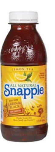 Snapple Lemon Tea, 20-Ounce Bottles (Pack of 24) by Snapple