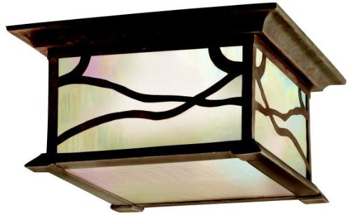 Kichler 9838DCO Morris Outdoor Ceiling 2-Light,