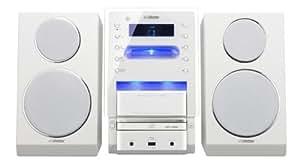 JVC UX-LP6E - Minicadena (puerto para iPod, USB 2.0), color blanco