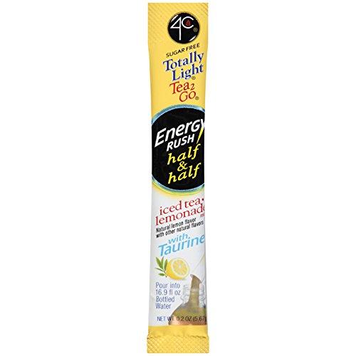 4C Energy Rush Half & Half Lemonade/Iced Tea Bulk Stix 350 ct