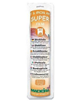 Madeira Super Film Iron Away Stabilizer for Machine Embroidery - Clear by Madeira - Madeira Bath