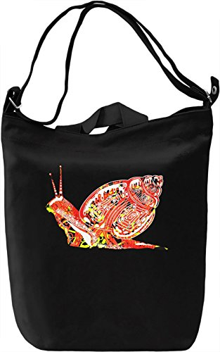 Snail Borsa Giornaliera Canvas Canvas Day Bag| 100% Premium Cotton Canvas| DTG Printing|