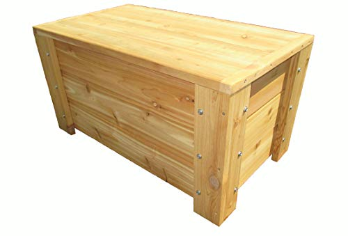 Premium Quality Indoors/Outdoors Cedar Storage Bench