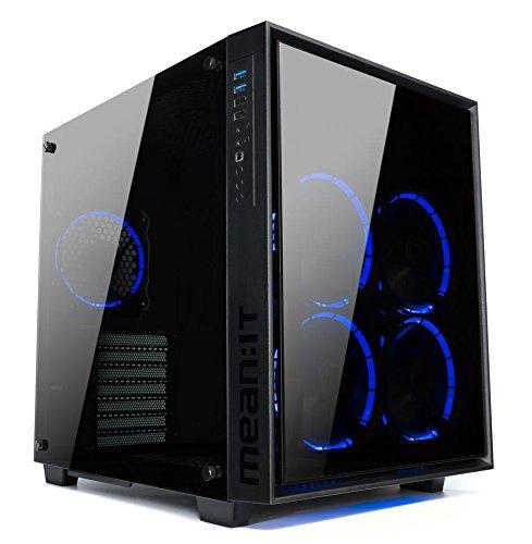 Price comparison product image Centaurus Warlock GT - AMD Ryzen 7 2700 X 4.2GHz OC, Liquid Cooler, 16GB 3000MHz RAM, Nvidia GTX 1080 Ti 8GB, 1TB SSD + 2TB HDD, Windows 10, AC WiFI. Powerful Desktop Gaming Computer!