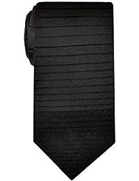 Made in Italy Men's Gradient Striped Necktie, 3.34'' Width, Silk