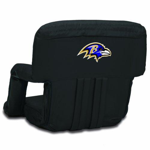 NFL Baltimore Ravens Portable Ventura Reclining Stadium Seat