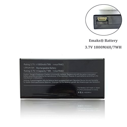 Emaks RAID Controller Battery U8735 NU209 Perc 5i 6i for Dell PowerEdge 6850 6950 1950 2950 2900 XJ547 P9110 FR463 - Replacement 3.7V 7Wh/1800mAh