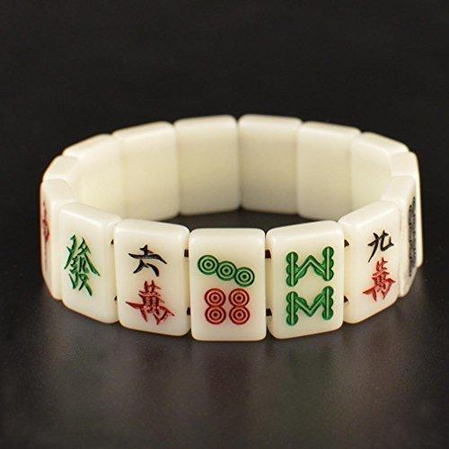 Mahjong Game Jewelry Bracelet 3/4 by Yellow Mountain Imports