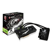 MSI GeForce GTX 1080 SEA HAWK X Video Card 8GB GDDR5X 256-Bit PCI Express SATA HDMI/Dual DVI-D/3xDisplayPort Retail