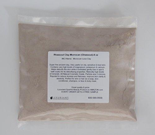 Rhassoul Clay-Cosmetic Grade-8 oz