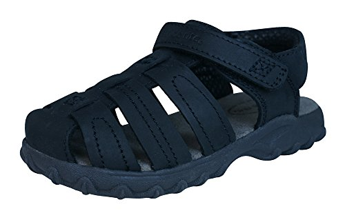 Stride Rite Hudsen Junge Sandalen aus Leder Black