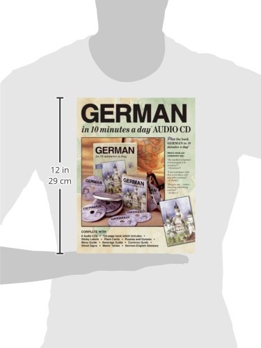 GERMAN in 10 minutes a day® AUDIO CD by Brand: Bilingual Books, Inc. (Image #7)