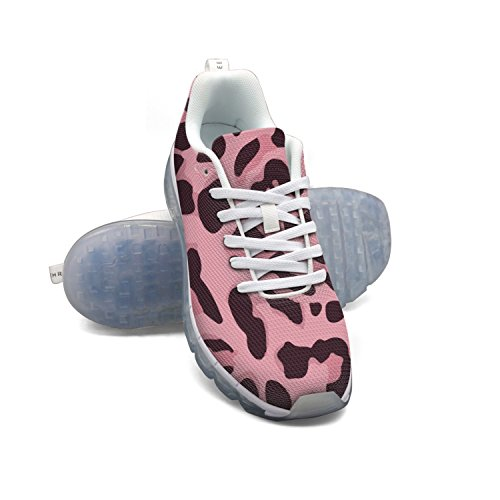 extremely FAAERD Animal Print Pink Men's Fashion Lightweight Mesh Air Cushion Sneakers Basketball Sneakers shopping online for sale eastbay online the cheapest cheap price nKHx49
