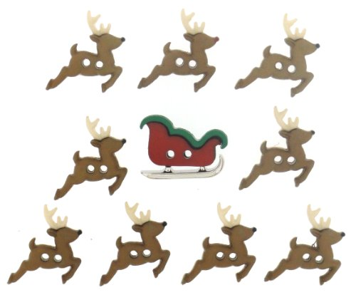 Price comparison product image Dress It Up 7590 Sew Cute Sleigh/Reindeer
