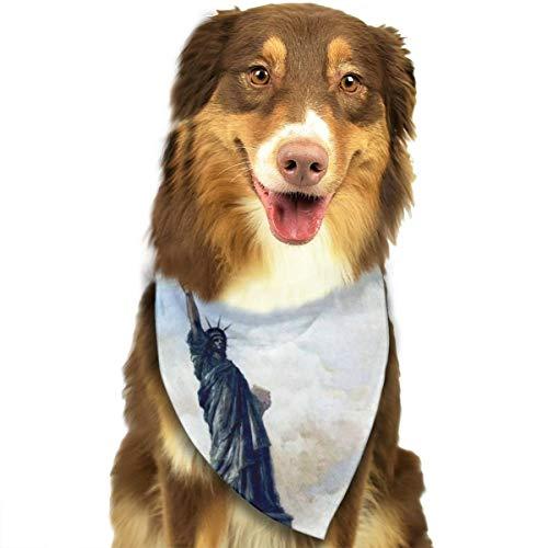 Pet Scarf Dog Bandana Bibs Triangle Head Scarfs