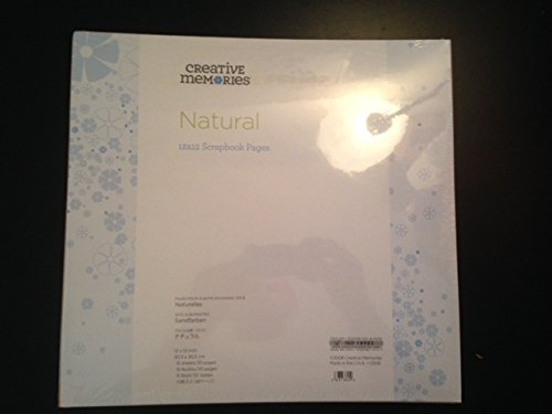 Creative Memories 12x12 12 X 12 True Natural Refill Pages