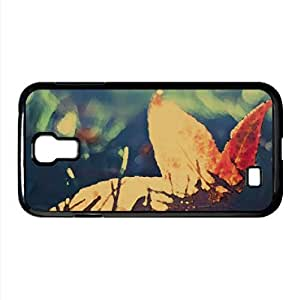 Fallen Leaf Bokeh Watercolor style Cover Samsung Galaxy S4 I9500 Case (Autumn Watercolor style Cover Samsung Galaxy S4 I9500 Case)