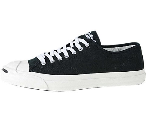Converse Women's Jack Purcell Cp Canvas Low Top Sneaker,Black/White,12 B(M) US Women / 10.5 D(M) US Men (Sneakers Jack)