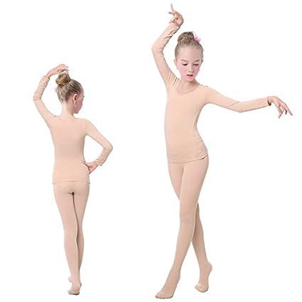 embiofuels (TM) Niñas Niños Ropa Interior desnuda de ballet Danza subcoating niños piel baile