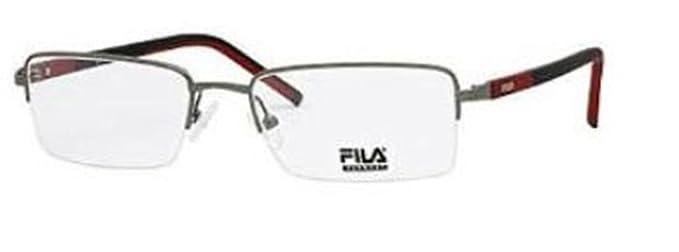 60a24f8a009 Fila Glasses Men VF9580K 520GUN Gunmetal Full Frame  Amazon.co.uk ...