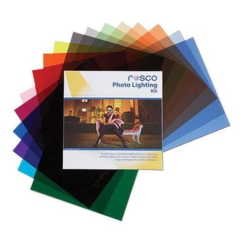 Rosco Photo Lighting Filter Kit, 12 x 12