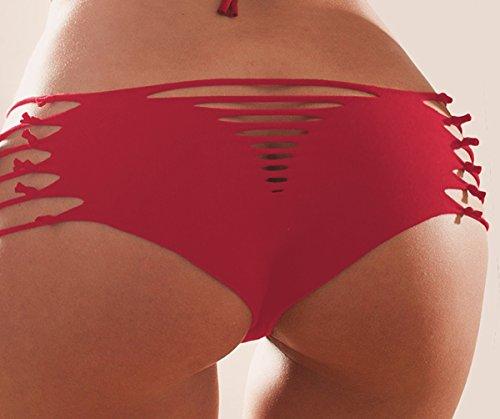 LAOO SA - Braguitas - para mujer Rosso